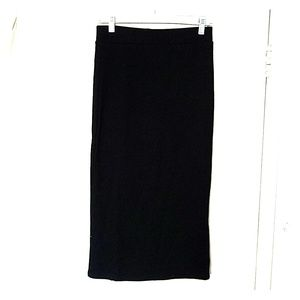 Black midi/ankle length skirt